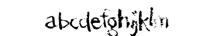 der D?monschriftkegel Font LOWERCASE