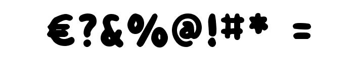 detourDork Font OTHER CHARS