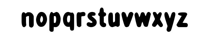 detourDork Font LOWERCASE