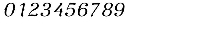 De Gama Light Italic Font OTHER CHARS