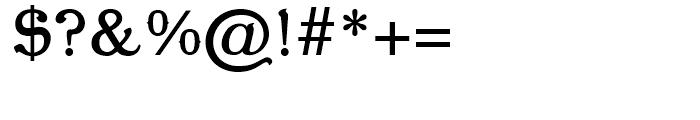 De Gama Regular Font OTHER CHARS