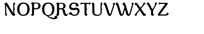 De Gama Regular Font UPPERCASE