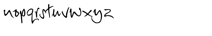 Debs Regular Font LOWERCASE