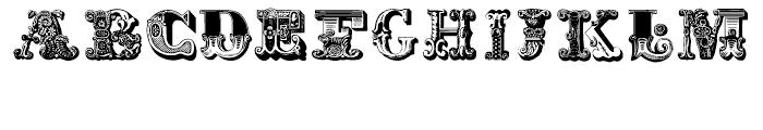 Decadence avec Elegance Two Regular Font LOWERCASE