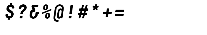 Decima Mono R Bold Italic Font OTHER CHARS