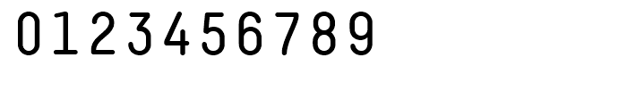 Decima Mono Round Regular Font OTHER CHARS