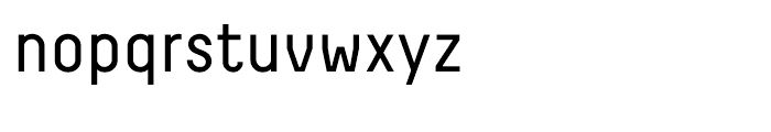 Decima Regular Font LOWERCASE