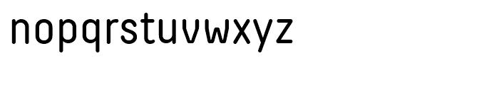 Decima Round Roman Font LOWERCASE