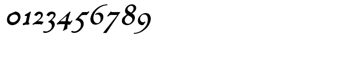 Decimosexto NF Italic Font OTHER CHARS