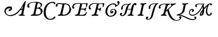 Decimosexto NF Italic Font UPPERCASE