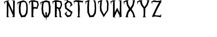 Deconstruct Normal Font UPPERCASE