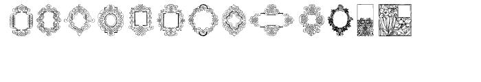 Decorative Boxes 2 2 Regular Font UPPERCASE