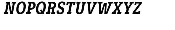 Decour Condensed Black Italic Font UPPERCASE