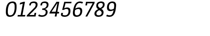 Decour Semi Bold Italic Font OTHER CHARS