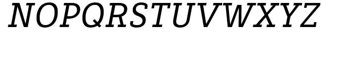 Decour Semi Bold Italic Font UPPERCASE