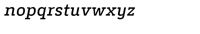 Decour Semi Bold Italic Font LOWERCASE