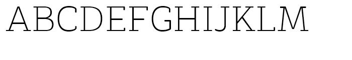 Decour Soft Ultralight Font UPPERCASE