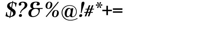 Dedica Italic Font OTHER CHARS