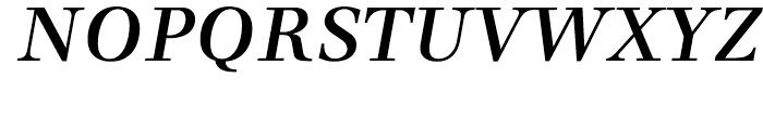 Dedica Italic Font UPPERCASE