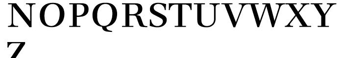 Dedica Regular Font UPPERCASE