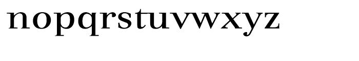 Dedica Regular Font LOWERCASE