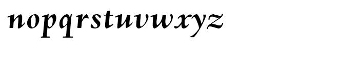 Deepdene Bold Italic Font LOWERCASE