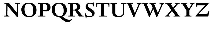 Deepdene Bold Font UPPERCASE