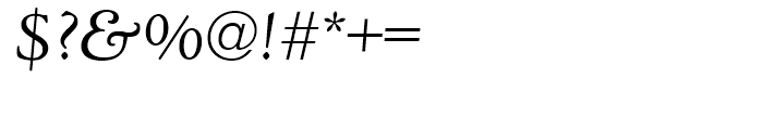 Deepdene Italic Font OTHER CHARS