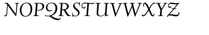 Deepdene Italic Font UPPERCASE