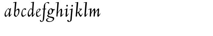 Deepdene Italic Font LOWERCASE