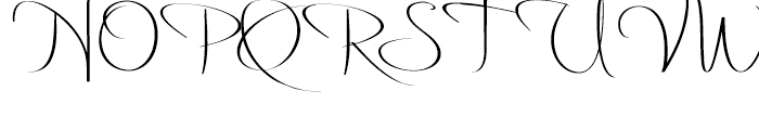 Delikat Font UPPERCASE