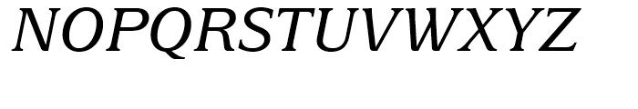 Delima Italic Font UPPERCASE