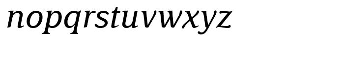 Delima Italic Font LOWERCASE