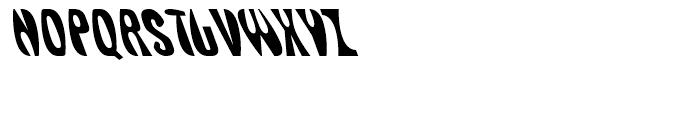 Delirious Regular Font UPPERCASE