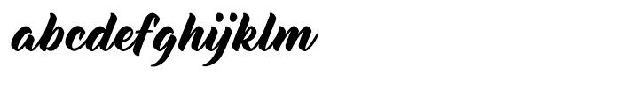 Delisia Regular Font LOWERCASE