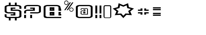 Deluxe Ducks Regular Font OTHER CHARS