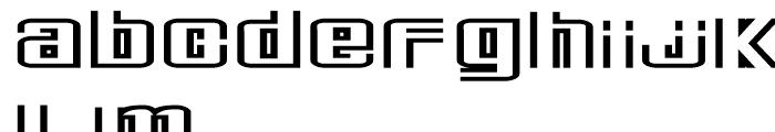 Deluxe Ducks Regular Font LOWERCASE