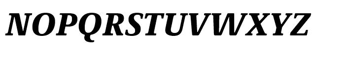 Demos Next Black Italic Font UPPERCASE