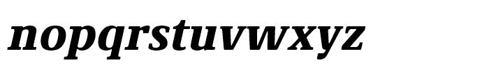 Demos Next Black Italic Font LOWERCASE