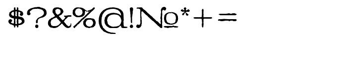 Denim Book Font OTHER CHARS
