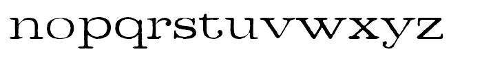 Denim Book Font LOWERCASE