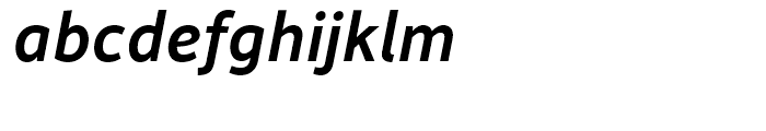 Depot New Medium Italic Font LOWERCASE
