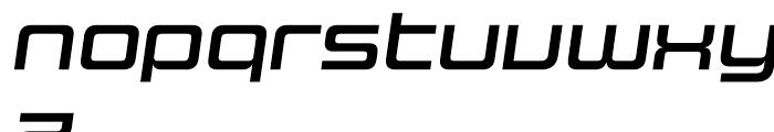 Design System C 700 I Font LOWERCASE