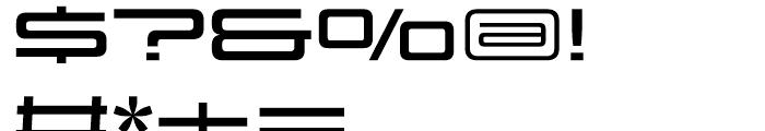 Design System D 700 R Font OTHER CHARS