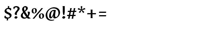 Destra Medium Font OTHER CHARS