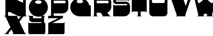 Deukalion NF Regular Font UPPERCASE