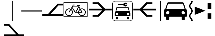 Deutsche Bahn AG Pi Three Font LOWERCASE