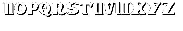 Deutsche Poster Steinschrift Font UPPERCASE