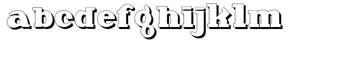 Deutsche Poster Steinschrift Font LOWERCASE