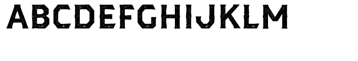 Dever Serif Halftone Bold Font UPPERCASE